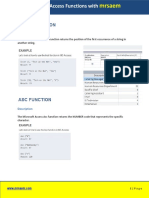 Access Functions