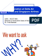 Depreciation at Delta