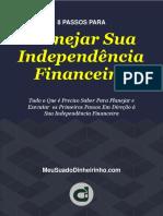 eBook - 8 Passos Para Planejar Sua Independência Financeira