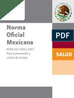 NOM 027 Lepra Sinlogos