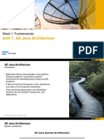 SAP Netweaver 7.5 AS JAVA Architecture