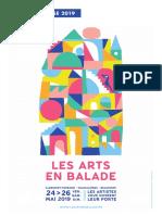 DOSSIER DE PRESSE ///// LES ARTS EN BALADE 2019