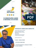 COMO ESTUDAR - PROF. RUBENS SAMPAIO PHD - COMO ORGANIZAR SEU MATERIAL  DE ESTUDO