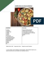 Gratin mediterráneo con salsa de albahaca.docx