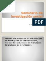 Investigación Social Presentación
