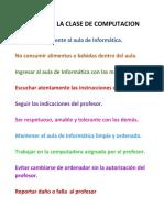 REGLAS PARA LA CLASE DE COMPUTACION.docx