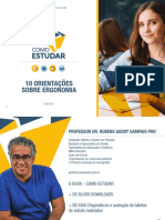 COMO ESTUDAR - PROF. RUBENS SAMPAIO PHD - ERGONOMIA DO ESTUDANTE