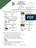 Ulangan I (Alat Pernapasan Manusia) IPA  2010-2011.doc