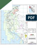 Mapa de Cuencas y Areas Protegidas