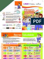 Diptico Recreo Saludable MEC 2015