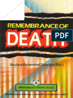 Remembrance of Death - Muhammad Zakariyya.pdf