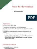 As várias faces da informalidade.pptx
