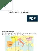 Las Lenguas Romances