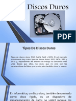 Presentacion Discos Duros Maritza y Aracely