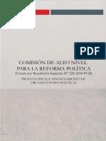 Financiamiento de los partidos políticos