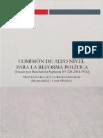 Bicameralidad y Relaciones Ejecutivo y Legislativo