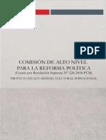 Sistema Electoral Subnacional