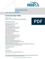 NSS Labs_Advanced Endpoint Protection Comparative Report_Security Value Map