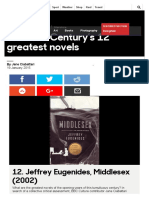 BBC - Culture - The 21st Century's 12 Greatest Novels