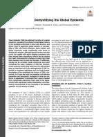 global epidemic of diabetes