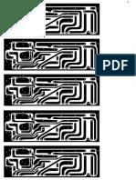 Placa Preamplificador de audio mono