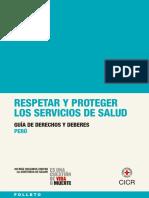Guia de Derechos y Deberes Para El Personal de Salud