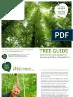 TREE GUIDE / GUÍA FORESTAL / GUÍA DE ÁRBOLES
