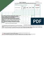 Formular Deviz de Cheltuieli Pentru Combaterea Varoozei Prin Metode Ecologice