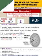 RRB JE CBT 2 Electronics classes