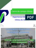 01. Cierre de Campo Clinico