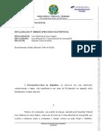 PGR pede cassação de liminar que beneficia Valdevan Noventa