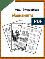 Sample Industrial Revolution Worksheets 1