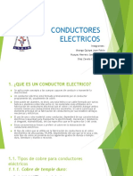 CONDUCTORES ELECTRICOS diapo
