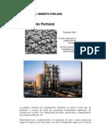 Cemento Porland Morteros y Hormigones