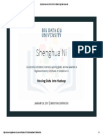 Moving Data Into Hadoop(New Certificate)