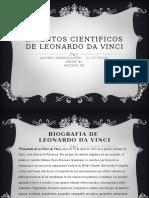 Inventos Cientificos de Leonardo Da Vinci