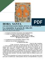 La Comunión, La Gracia de Vida (69) HORA SANTA Con San Pedro Julián Eymard.