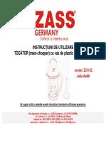 ZCH02 Manual Utilizare