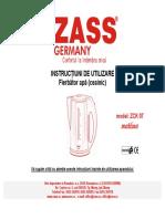 ZCK07 Manual Utilizare