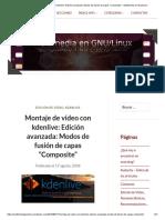 """Montaje de Vídeo Con Kdenlive_ Edición Avanzada_ Modos de Fusión de Capas """"Composite"""" – Multimedia en Gnu_Linux"""