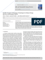 Variable Geometry Turbocharger Technologies for Exhaust Energy Recovery and Boosting a Review