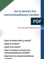 3 El Derecho, La Moral y Los Convencionalismos