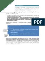 Catalogación descriptiva y temática