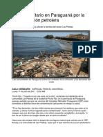 Contaminacion Ptrolera en Paraguana