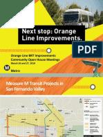 Orange Line Improvements Project presentation