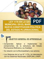 La Ley 1178 Gestion Municipal Final