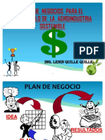 Plan de Negocio Agroindustrial