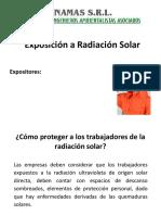 Exposición a Radiación Solar