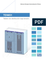 Catalogo Tablero de Distribucion TDW01