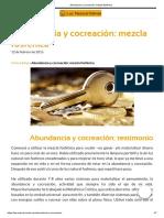 Abundancia y Cocreación_ Mezcla Fosfénica